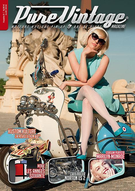 Pure Vintage Magazine #9
