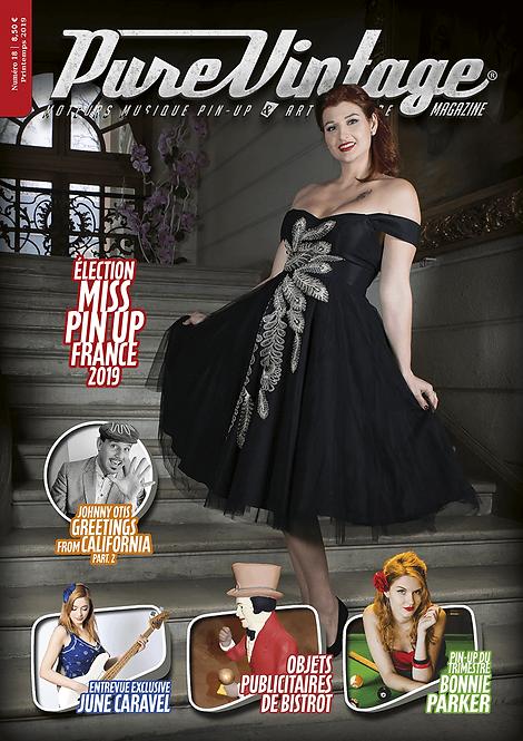 Pure Vintage Magazine #18