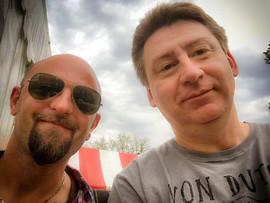Matt Pernot, rédacteur-en-chef et Fabrice Berreur, directeur général Pure Vintage. Ils ont débuté ensemble en 2013 l'aventure du magazine.