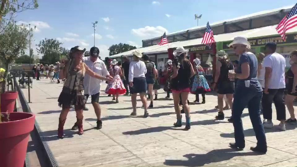 American Tours Festival 2019 - Line dance