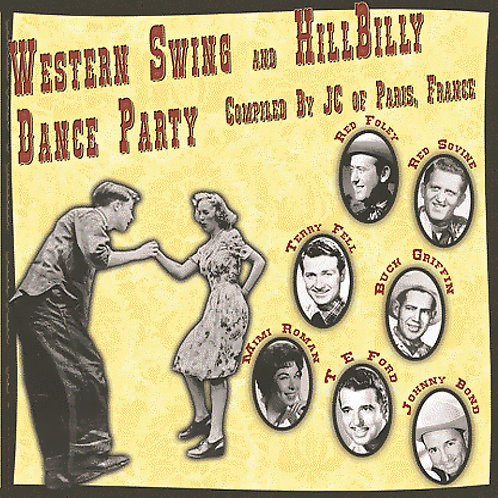 CD Western Swing and Hillbilly Dance Party #1