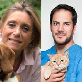 DV Christelle FOURNEL et le DV Enrico GHIBERTO