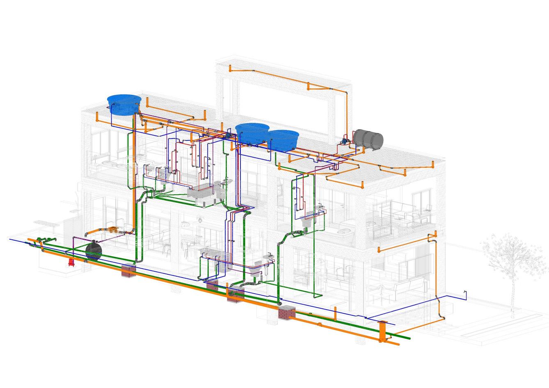 Compatibilização Arquitetura, Estrutura e Hidráulica