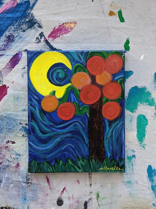 Summer Orange Tree