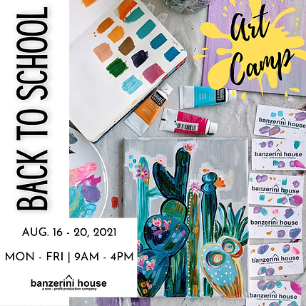 Back To School Art Camp