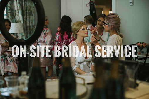 On-site Bridal Service