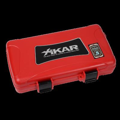 Xikar Red Travel Humidor 5ct