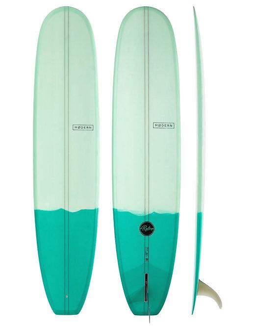MODERN RETRO 9'1 SURFBOARD (INCL. FIN)