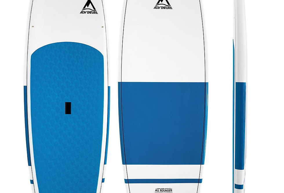 9'8 or 10'6 ADVENTURE PADDLE ALLROUNDER  SUP BOARD