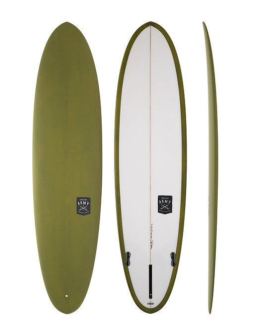 CREATIVE ARMY HUEVO 8'1 SURFBOARD (INCL. FIN)