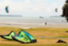 Kitesurfing lessons Snells Beach