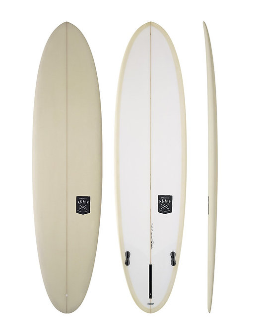 CREATIVE ARMY HUEVO 7'6 SURFBOARD (INCL. FIN)