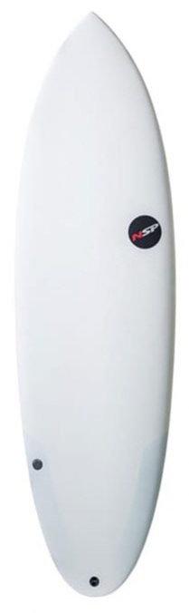 NSP PROTECH 6'0 HYBRID SURFBOARD (INCL. FINS)