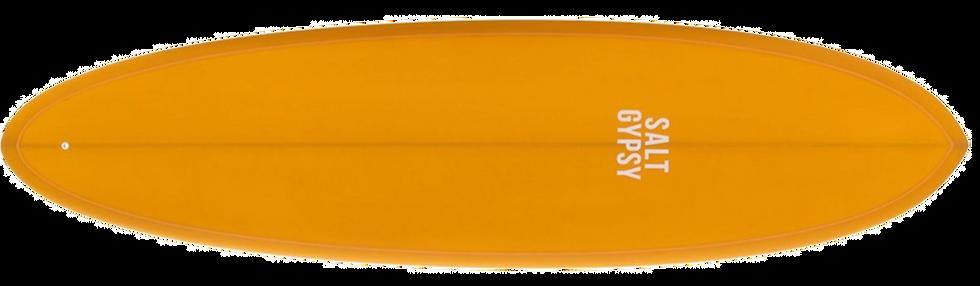 SALT GYPSY MID TIDE SURFBOARD (INCL. FINS)
