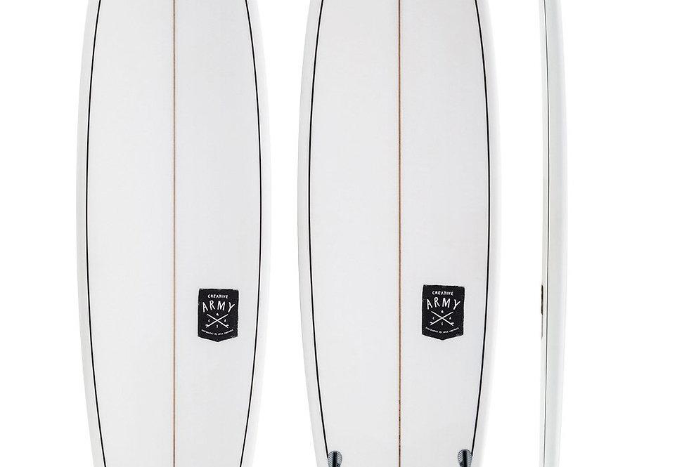 CREATIVE ARMY HUEVO 7'6 SLX SURFBOARD (INCL. FINS)