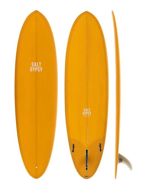 SALT GYPSY MID TIDE 6'8 SURFBOARD (INCL. FINS)