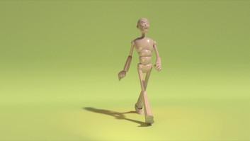 3D Walk Cycles
