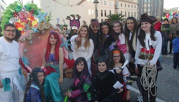 pasacalles carnaval malaga