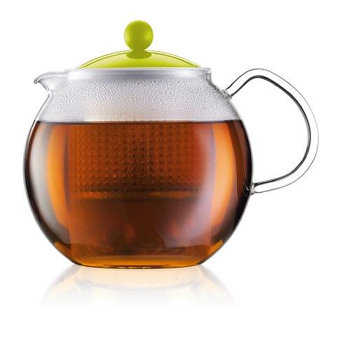 """Чайник со стеклянной ручкой 1.5л, """"Assam"""", BODUM"""