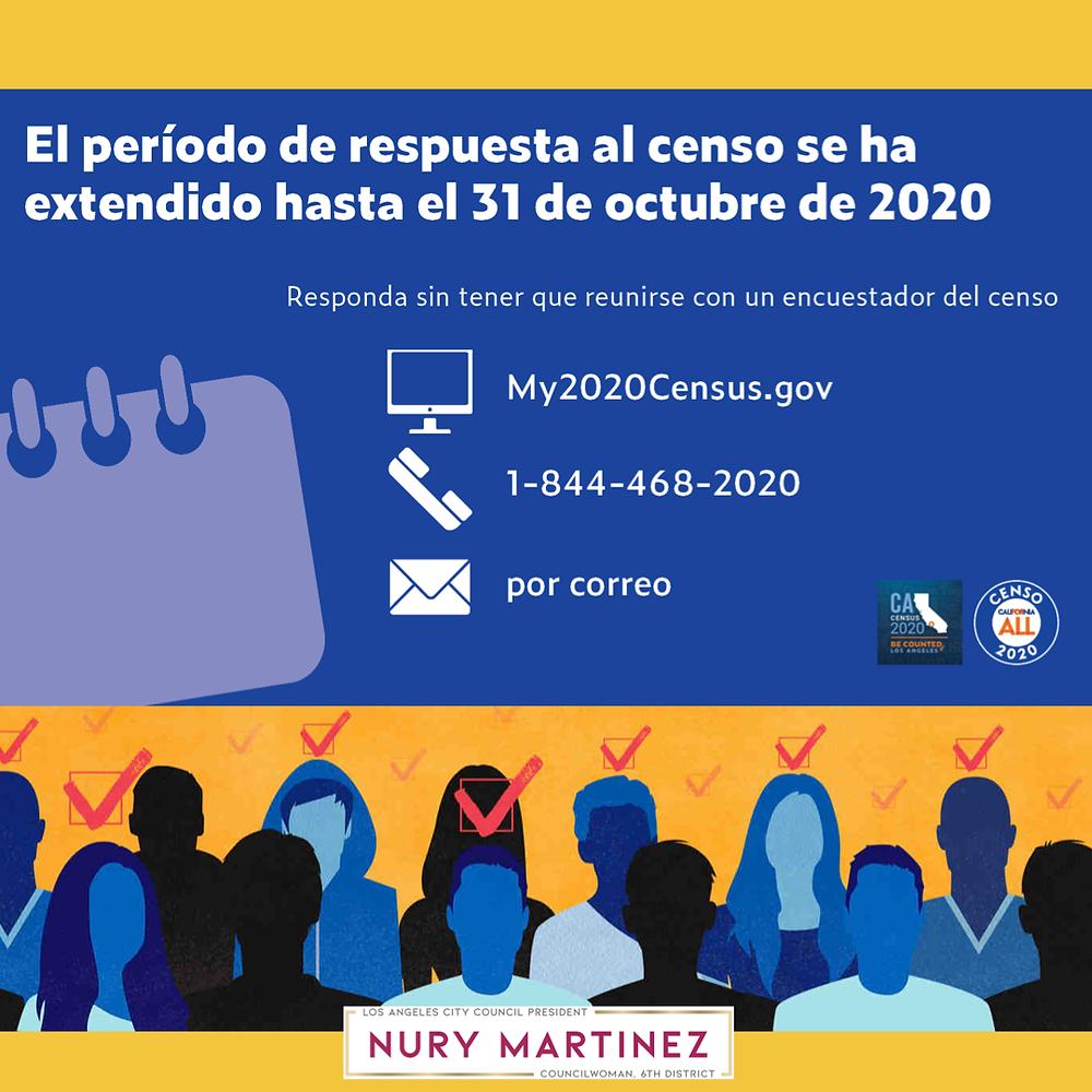 2020 Census Deadline Extended