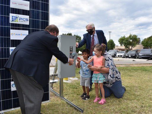 ONEgeneration Solar Panel Activation:Bringing Clean Energy to the San Fernando Valley