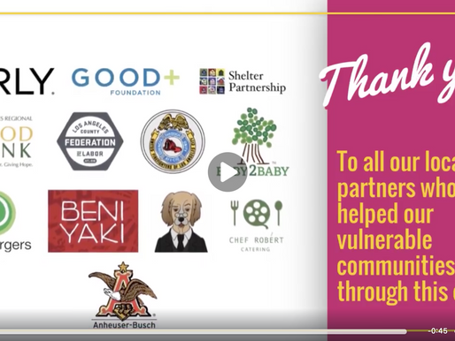 Thank You to Our Community Partners