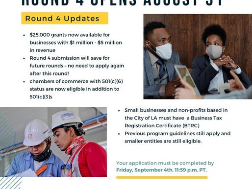 City Council Approves $40 Million toward $100 Million LA Small Business Grants