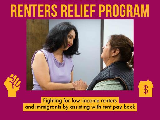 Renters Relief Program & Jobs Creation Program