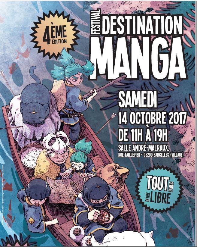 4ème édition du Festival Destination Manga à Sarcelles !