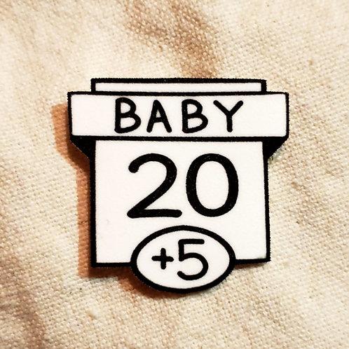 20 Baby Meme Ability Score Pin