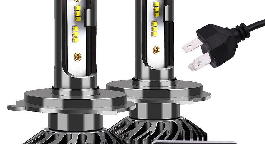 INFITARY F2 ZES Chip LED Car Headlight Bulbs  72W 6500K 12V Auto Headlamp 2pcs