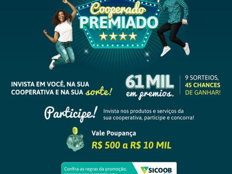 Começou: você pode ganhar  R$ 500 à R$ 10.000.