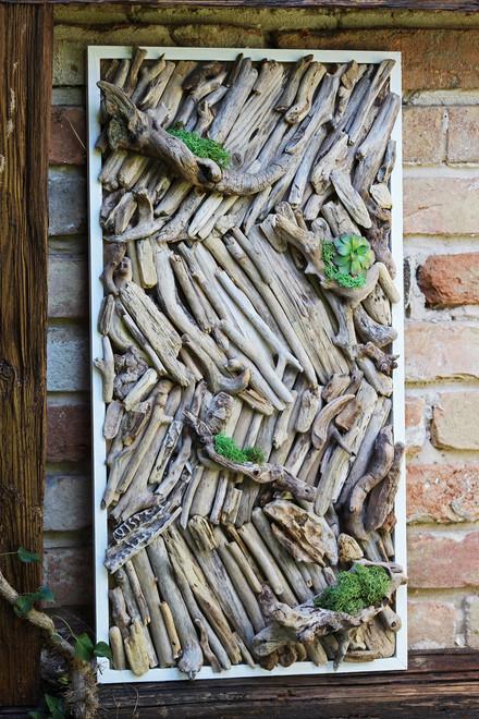 Stena z dreva