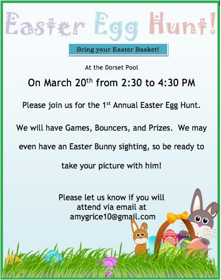 Dorset Easter Egg Hunt
