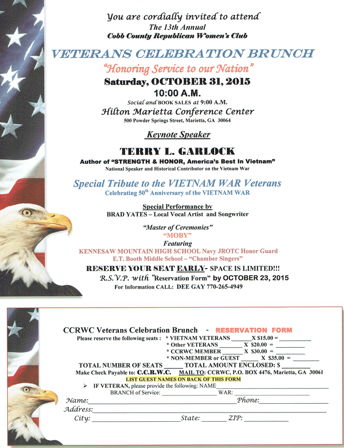 Vietman Veterans Celebration Brunch