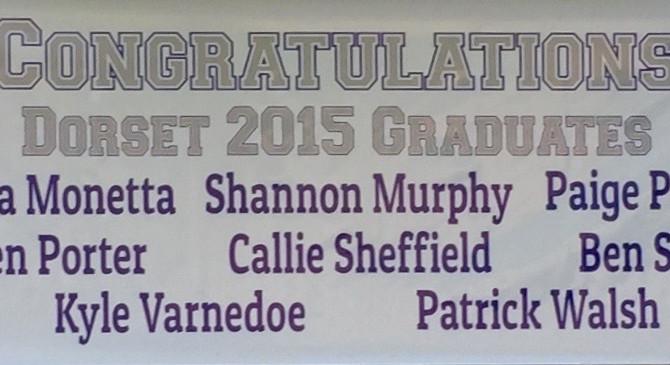 Congratulations 2015 Dorset Graduates!