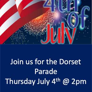 Dorset July 4th Parade