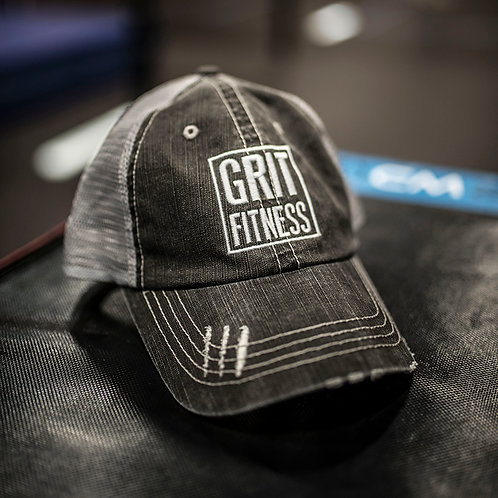 Grit Fitness Logo Hat - Distressed