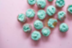 Gröna Frosting Cupcakes