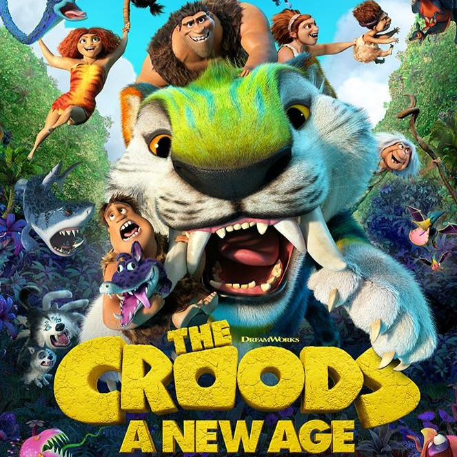 Dive-In Movie Night: The Croods 2
