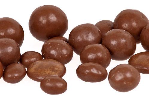 Chocolate coated raisins