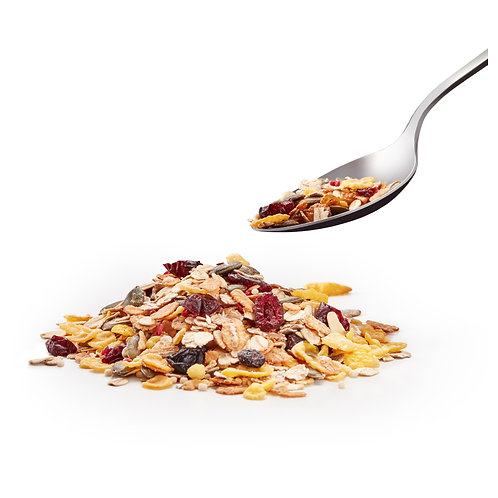 Organic deluxe muesli no added sugar