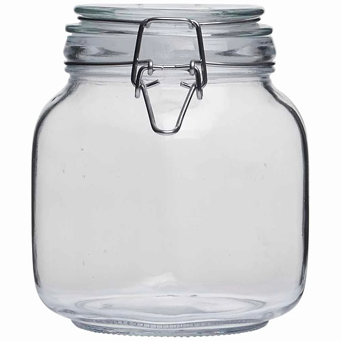 Glass Jar medium 1 litre