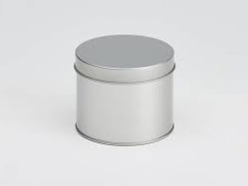 Round window tin - 50g