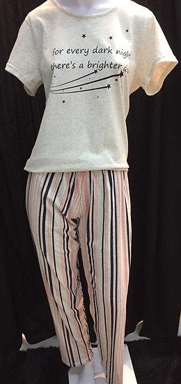 Pijama Calça e Camiseta