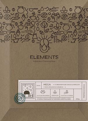 Bio Hega - káva s obsahem vitálních hub