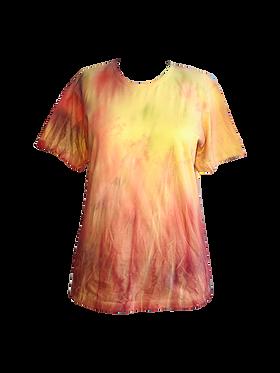 Camiseta Tie-Dye Galáxia do Girassol