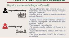 Migrar a Canadá: Estudia, Trabaja y Vive en Canadá; - Con la visa de Residente Permanente, tramitamo
