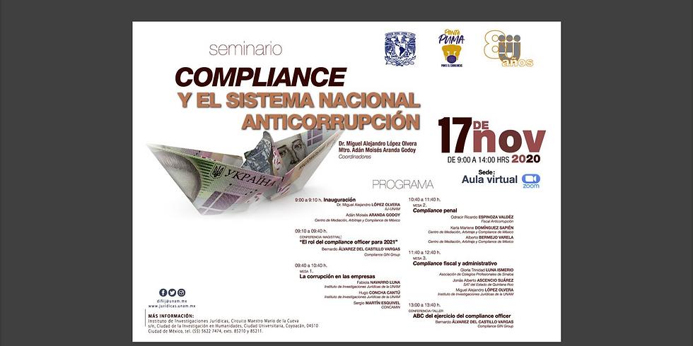 Seminario de Compliance y el Sistema Anticorrupción