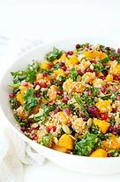 Butternut-Squash-Kale-Pomegranate-Salad-